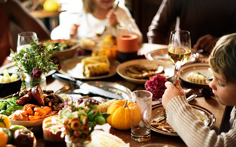 Picture of Thanksgiving table