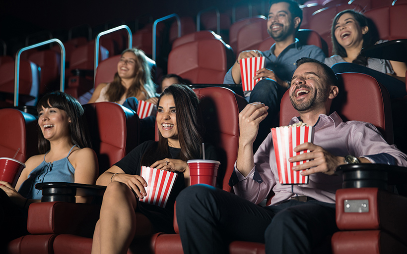 Picture of people at the movies