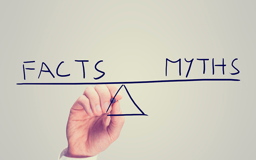 Picture of facts vs myths