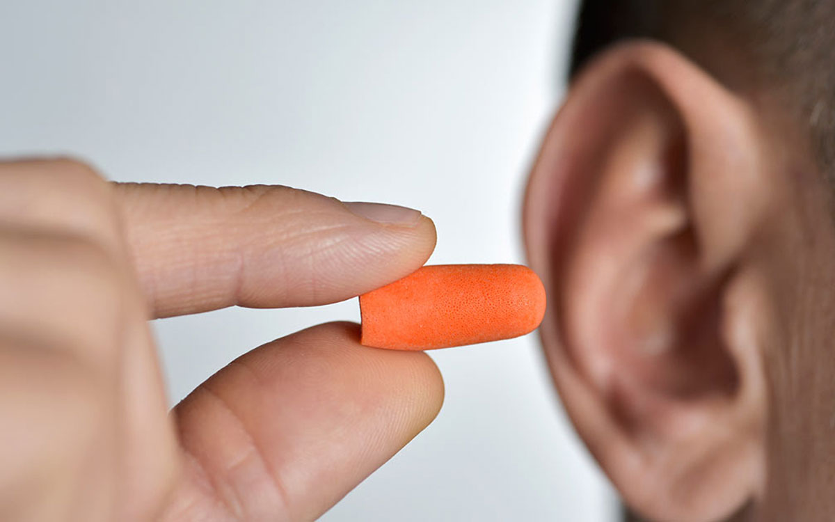 Ear plugs in the Summer
