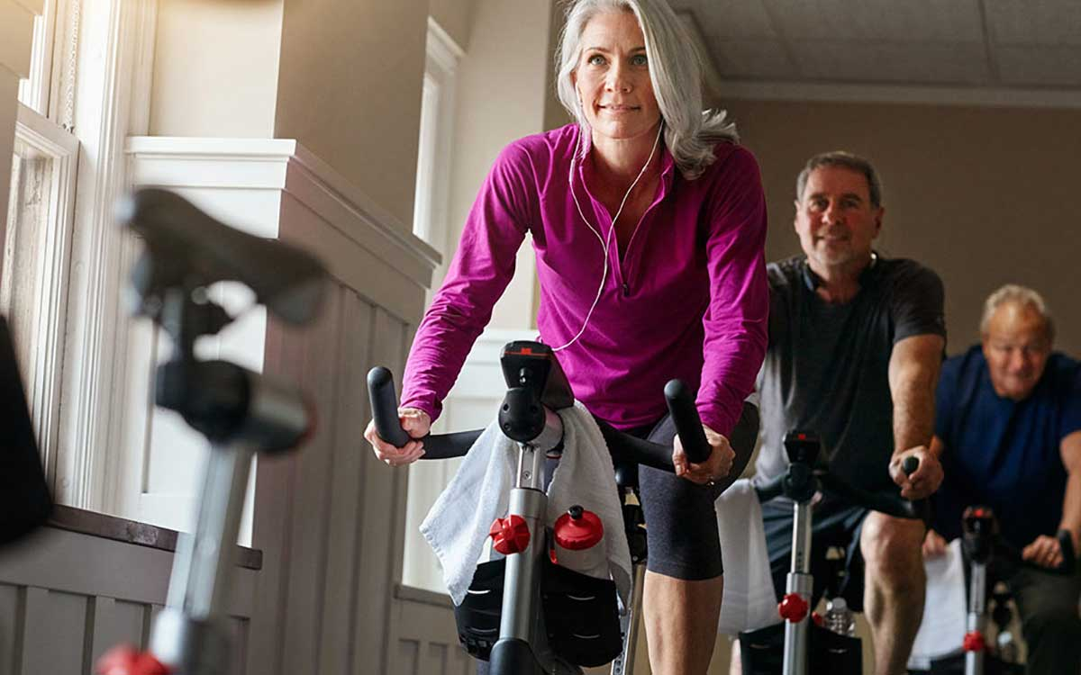 Spin class and hearing loss.