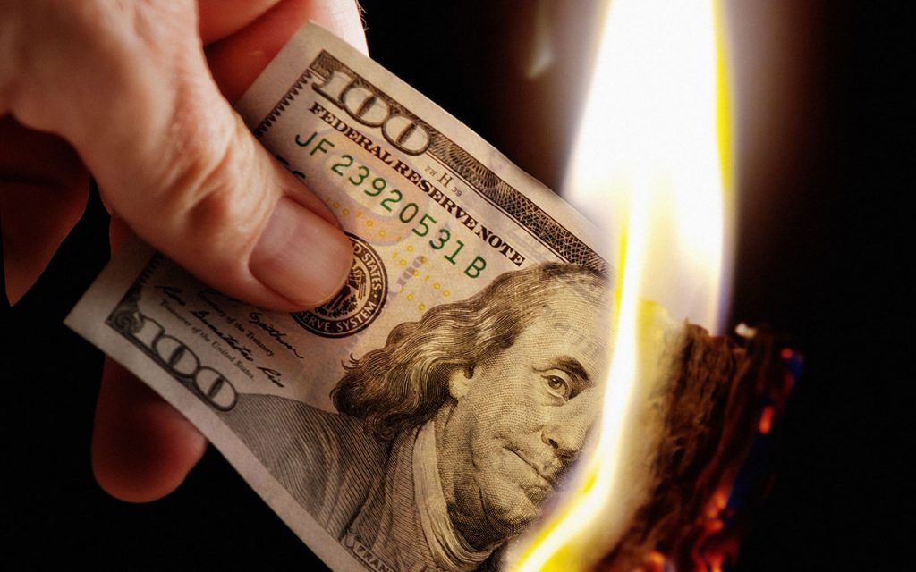 Money going up in flames because hearing loss is costing millions.