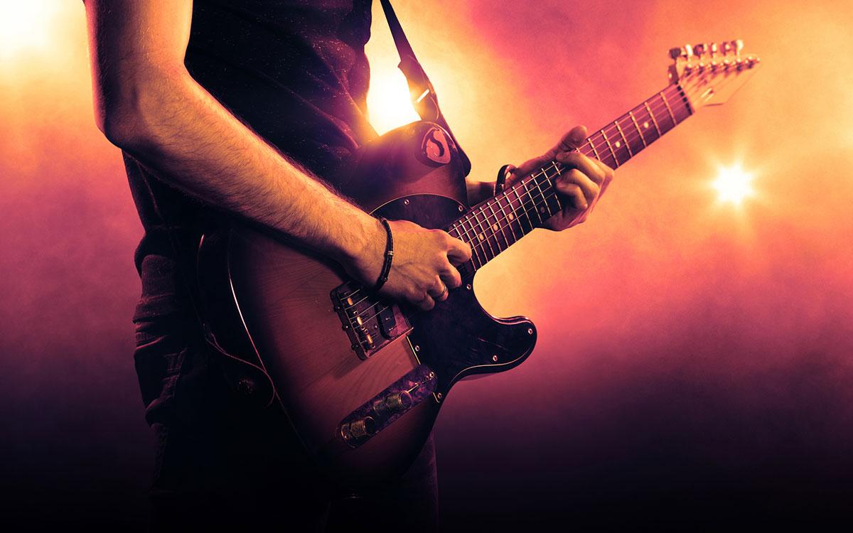 Guitarist suffering from Tinnitus.