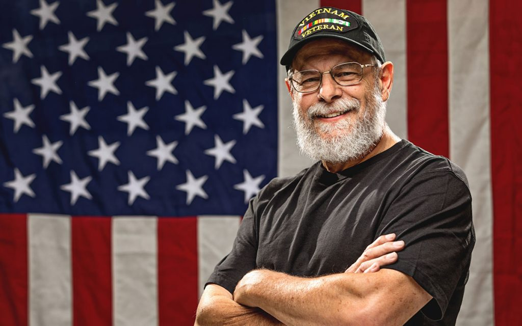 Veteran with hearing loss eligible for benefits.