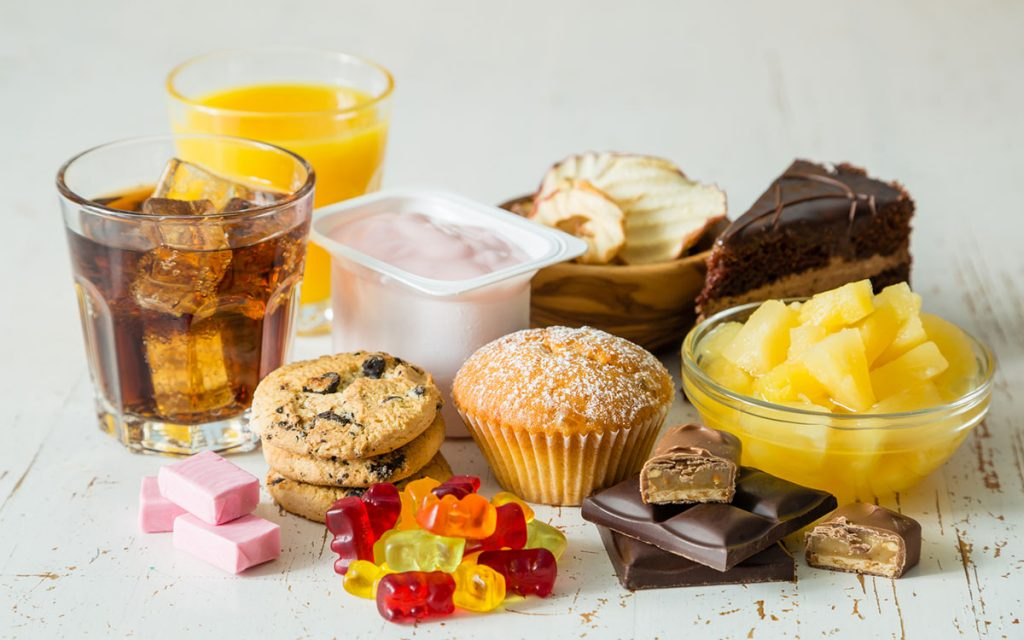 Junk foods that cause hearing loss.